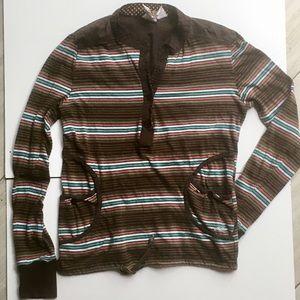 O'Neil Long Sleeve Shirt- SMALL